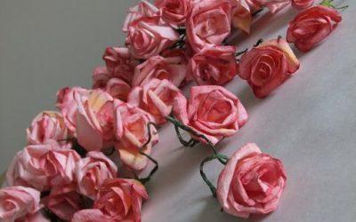 DIY virág díszítés